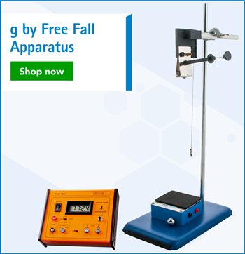g by Free Fall Apparatus